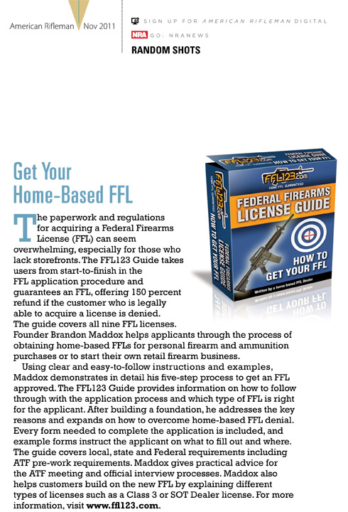 how to get ffl license