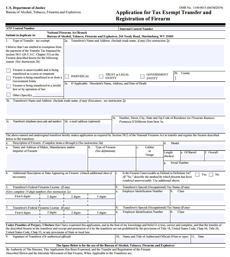 NFA Myths - FFL License