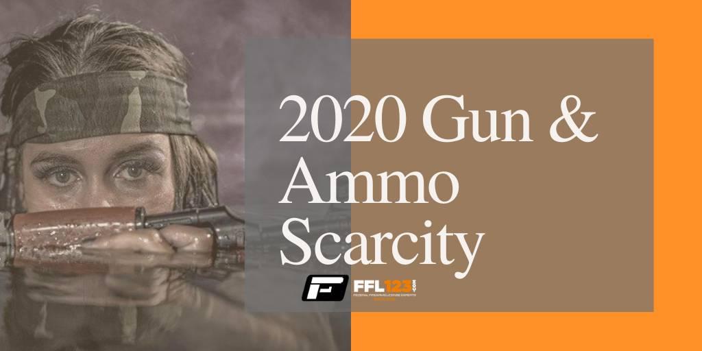 2020 Gun and Ammo Scarcity